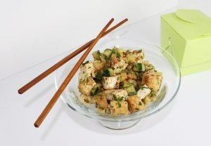 Spicy Asian Tofu Salad