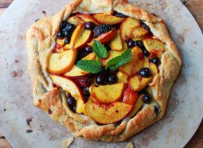 Easy Summer Fruit Galette