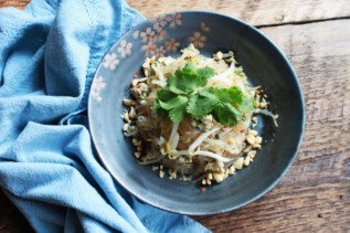 Bean Thread Noodles with Chicken