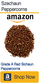 Sichuan peppercorns