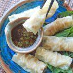 steamed Vietnamese rolls, Vietnamese rolls, spring rolls, Asian appetizer, Asian rolls, steamed, bamboo appetizer, Asian appetizer
