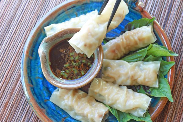 steamed Vietnamese rolls, Vietnamese rolls, spring rolls, Asian appetizer, Asian rolls, steamed, bamboo appetizer, Asian appetizer