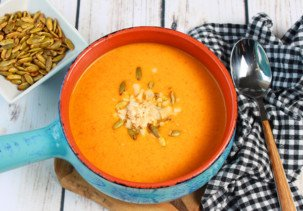 cold carrot soup