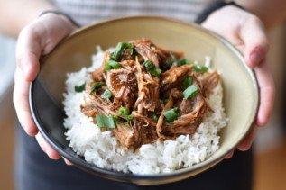 Korean pulled pork