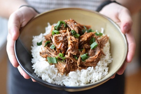 Korean pulled pork