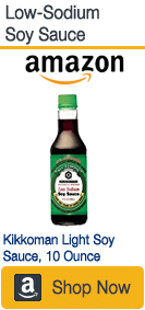reduced-sodium soy sauce