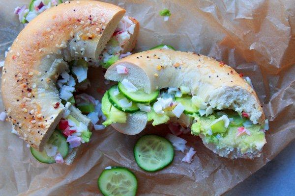 California Everything Bagel Sandwich
