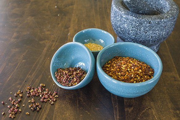 Asian spices