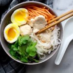 miso chicken noodle soup