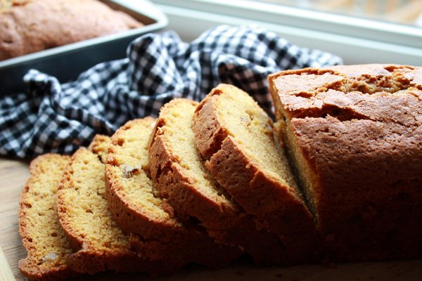 Five Spice Pumpkin Bread