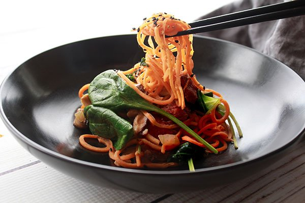 Korean sweet potato noodles