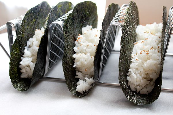 nori and rice