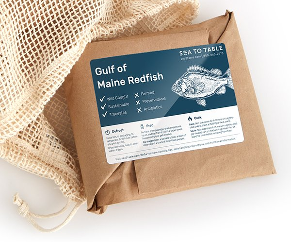 Sea to Table Redfish
