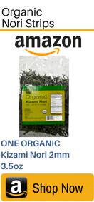 Organic Nori Strips