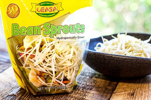 bean sprouts in a package