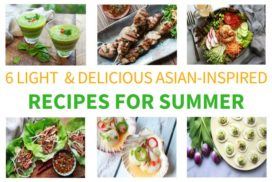 Asian inspired recipes for summer