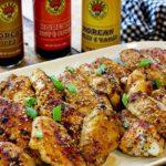 baked Korean chicken wings