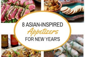 easy Asian appetizers for New Year's Eve