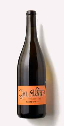 bottle of Scout & Cellar Gallivant Chardonnay
