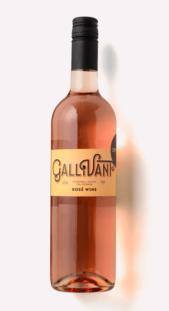 a bottle of 2019 Gallivant Rosé