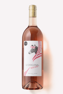 a bottle of 2019 L'Original Rosé wine from Scout & Cellar