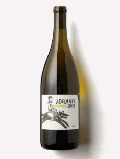 a bottle of Scout & Cellar 2019 Adelante Chardonnay