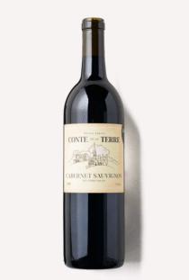 a bottle of Scout & Cellar's Conte de la Terre Cabernet Sauvignon