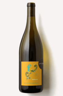 a bottle of Scout & Cellar 2019 Fiddleneck Chardonnay