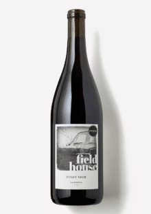a bottle of Scout & Cellar 2018 Fieldhouse Pinot Noir