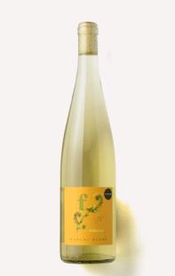 a bottle of Scout & Cellar 2019 Fiddleneck Muscat Blanc